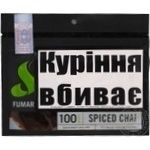 Тютюн Fumari Spiced chai 100г