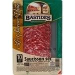 Sausage Bastides pork raw cured 100g