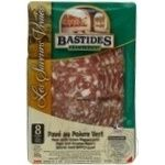 Sausage Bastides pork pepper raw cured 100g