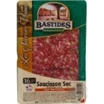 Sausage Bastides pork hazel-nut raw cured 80g France
