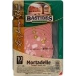 Sausage Bastides Mortadella pork pistachio raw cured 100g