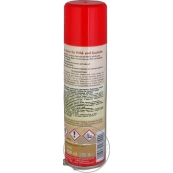 Спрей Centralin для замши и гладкой кожи бесцветный 2в1 250мл - купить, цены на Novus - фото 2