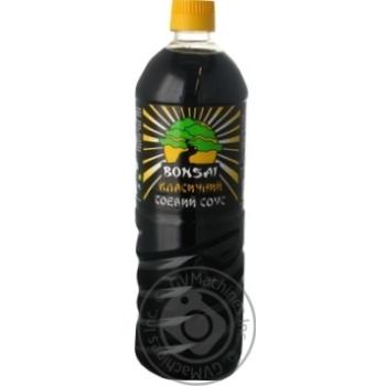 Соус соевый Bonsai Классический 890мл - купить, цены на Novus - фото 1