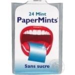 Пластинки ментоловые PaperMints без сахара 24шт