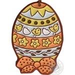Яйце пасхальне 10х14см