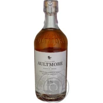 Виски Aultmore 18 лет 46% 0,7л
