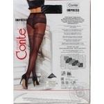 Колготки жіночі Conte Elegant Fantasy Impress 20 den розмір 4, nero - купити, ціни на Novus - фото 3