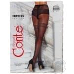 Колготки жіночі Conte Elegant Fantasy Impress 20 den розмір 2, nero - купить, цены на Novus - фото 3