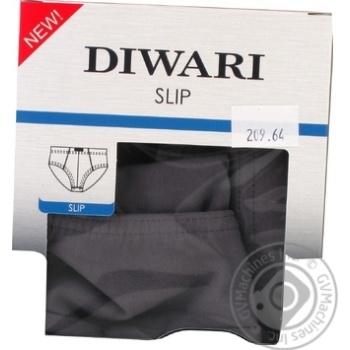 Труси чоловічі DiWaRi Basic Msl 128, розмір 110,114/XXL, grafit - купить, цены на Novus - фото 1
