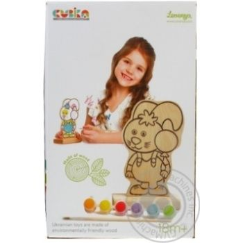 Levenya Toy Coloring Game Bunny with Paints 13869 - buy, prices for Furshet - image 1