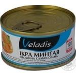Caviar Veladis alaska pollack 120g