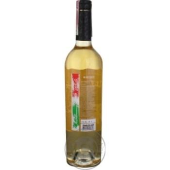 Вино Marengo Chardonnay белое сухое 9,5-14% 0,75л - купить, цены на МегаМаркет - фото 2