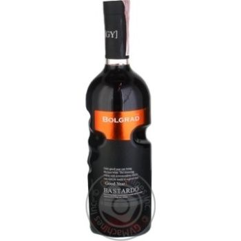 Вино Bolgrad Good Year Bastardo 13% 0,75л