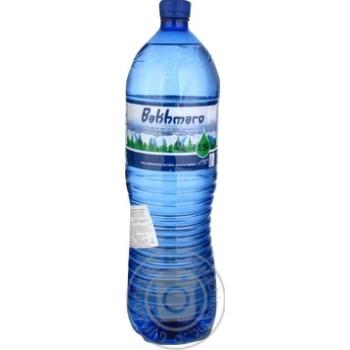 Мінеральна негазована вода Бахмаро 1,5 л ПЕТ