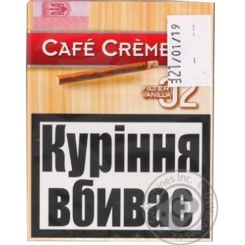 "Сигари CAFE CREME FILTER 02 VANILLA8"" - купити, ціни на Novus - фото 1"