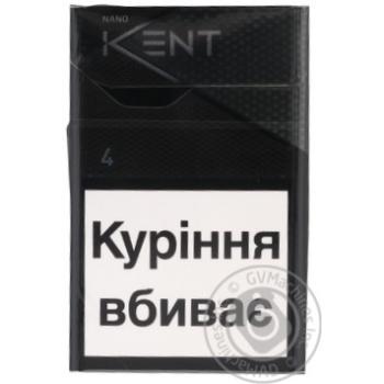 Цигарки Kent Nano Silver