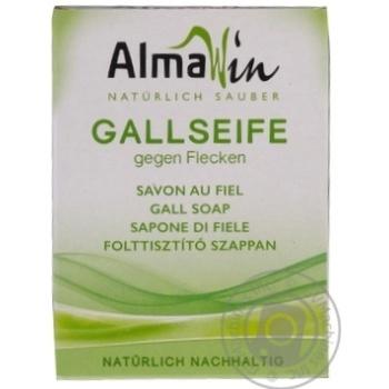 Мыло AlmaWin Органическое желчное для удаления пятен 100г - купить, цены на МегаМаркет - фото 1