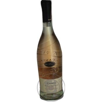 Canti Pinot Grigio Delle Pink Semi Dry Wine 12% 0.75l - buy, prices for CityMarket - photo 1