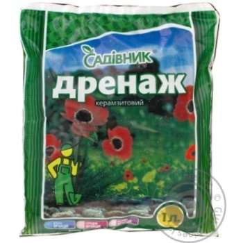 Drainage for flowers 1000ml - buy, prices for MegaMarket - image 1