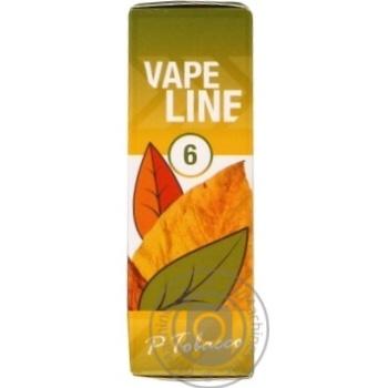 Жидкость Vapeline для заправки электронных сигарет 6мг 10мл - купить, цены на Таврия В - фото 1