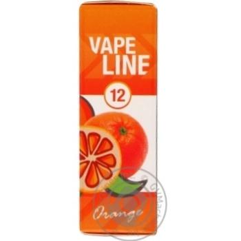 Vape Line Orange Liquid for Electronic Cigarettes 12mg 10ml