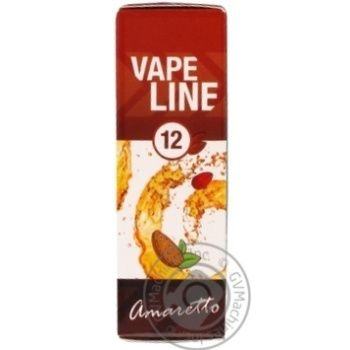 Жидкость Vape Line Amaretto для электронных сигарет 12мг 10мл