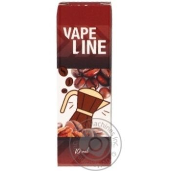 Vape Line Coffee Liquid for Electronic Cigarettes 12mg 10ml