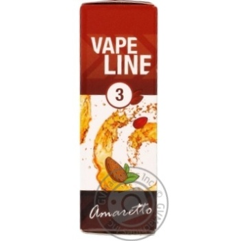 Рідина Vape Line Amaretto для електронних сигарет 3мг 10мл