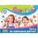 Краски Astra пальчиковые 4 цветов