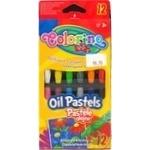 Colorino Pastel Oily Pencils 12 colors
