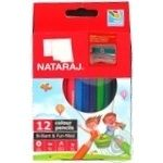 Карандаши цветные Nataraj 12шт