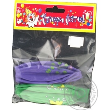 Воздушные шарики Створи Свято панч-болл 41см 2шт