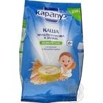 Каша детская Карапуз Мультизлаковая 8 злаков с бифидобактериями и витаминами сухая быстрорастворимая с 6 месяцев 250г