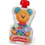 Puree Bambolina bog bilberry for children from 5 months 90g