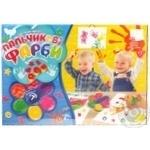 Набор для творчества Danko Toys Пальчиковые краски