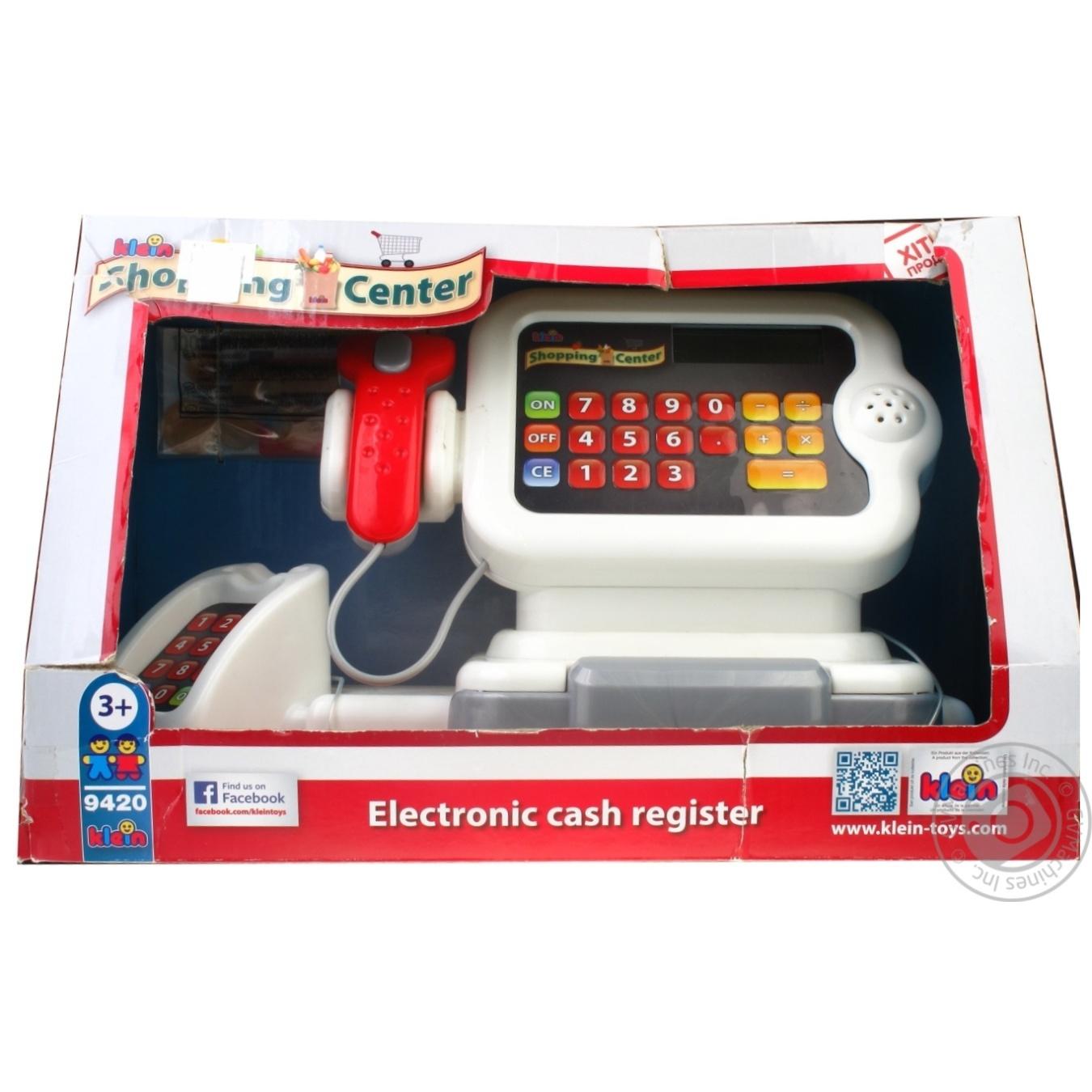 Іграшка Електронний касовий апарат арт.9420*