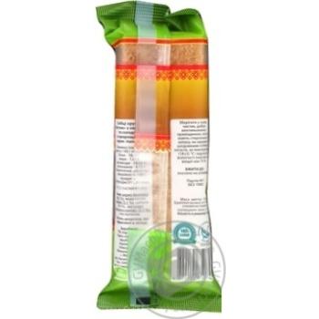 Хлебцы Росток из пророщенного зерна пшеницы 120г - купить, цены на Novus - фото 2