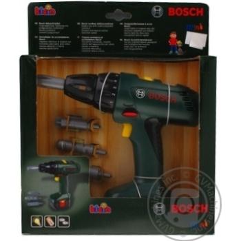 Іграшка Викрутка Bosch арт.8402* - купити, ціни на МегаМаркет - фото 1