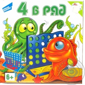 Гра дитяча настільна 4 в ряд Dream Makerspoard Games - купить, цены на Novus - фото 1