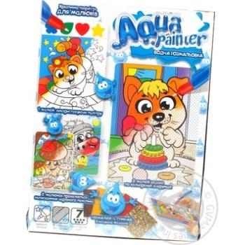 Іграшка Данко набір д/творчості Aqua Painter х6 - купить, цены на МегаМаркет - фото 1