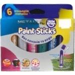 Фарба-олівець Paint Sticks metallic 6шт набір Арт.LBPS10MA6