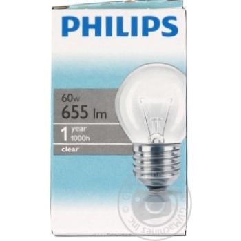 Bulb Philips e27 60w 1000hours 230v - buy, prices for Novus - image 4
