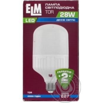 Лампа ELM LED 28W E27 18-0158 x12