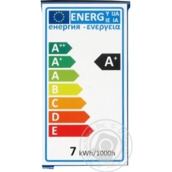 Лампа светодиодная Ickpa 7W E27 G45 - купить, цены на Novus - фото 2