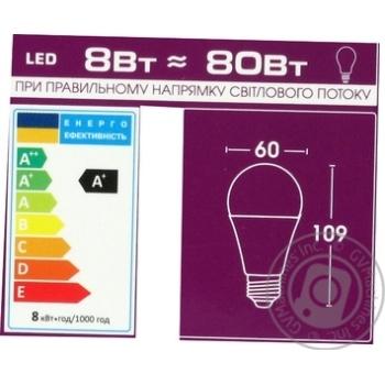 Лампа ELM Led B60 8W PA10 E27 4000 18-0024* - купить, цены на МегаМаркет - фото 2