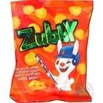 Снеки Zubby Кукурузные шарики соленые со вкусом сыра 30г