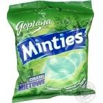 Леденцы Goplana Minties твердые с мятной начинкой 90г