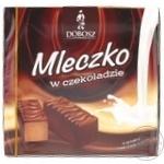 Конфеты шоколадные Dobosz Молочко шоколадное 400г