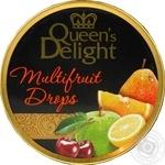 Леденцы Queen's Delight Мультивитамин карамельные 150г