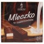 Конфеты шоколадные Dobosz Молочко ванильно-шоколадное 400г